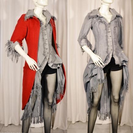 GRINGOIRE manteau + chemise